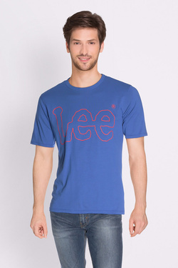 Tee-shirt LEE L62OAIED Bleu