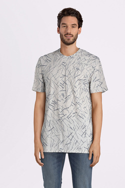 Tee-shirt LEE L62WAI03 Gris