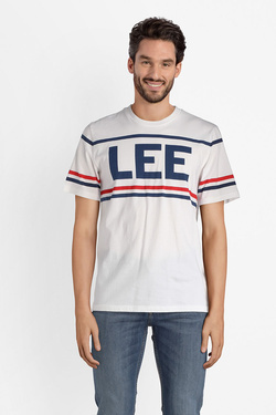 Tee-shirt LEE L64SAI12 Blanc