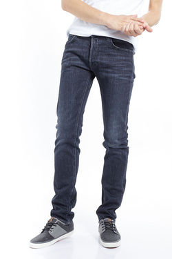 Jean LEE L706RGST Lee Black worn