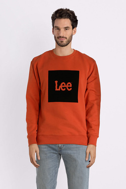 Sweat-shirt LEE L81DUBKC Orange