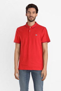 Polo LEE L61ARL Rouge