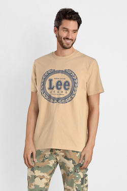 Tee-shirt LEE L61XFELP Beige