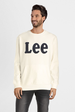 Sweat-shirt LEE L81OSOMK Blanc