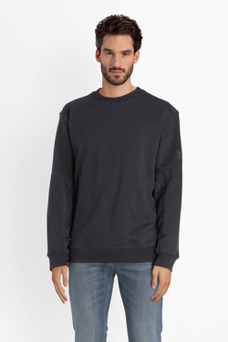 Sweat-shirt LEE L81JTTMA Bleu marine