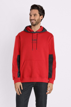 Sweat-shirt LEE L81UTT Rouge