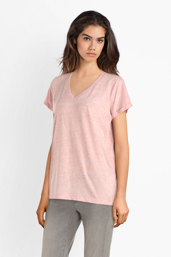 Tee-shirt LEE L43ITW Rose