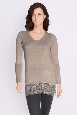 Pull LES PTITES BOMBES W172710 Taupe