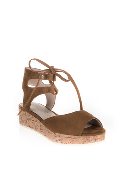 Chaussures LES PTITES BOMBES KITTY Camel