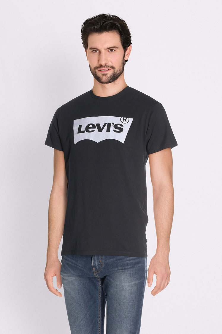 levi 39 s tee shirt 22489 0111 noir homme des marques et vous. Black Bedroom Furniture Sets. Home Design Ideas