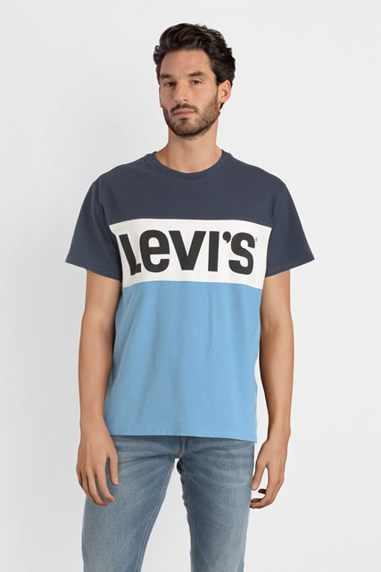 Tee-shirt logo color block LEVI'S