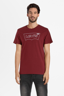 Tee-shirt LEVI'S 22489 Rouge bordeaux