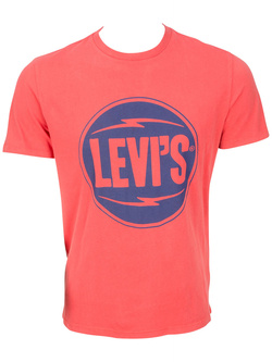 LEVI'S Tee-shirt rouge ROND ROUGE