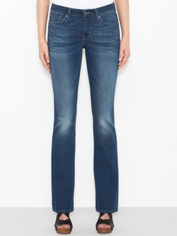 LEVI'S Jean low revel demi curve straight levis clear water MID DEMI BOOTCUT