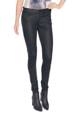 LEVI'S - Jean710 SUPER SKINNY 17780Levis Coated onyx