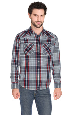 Chemise manches longues LEVI'S 665816-BARSTOW WESTERN Bleu