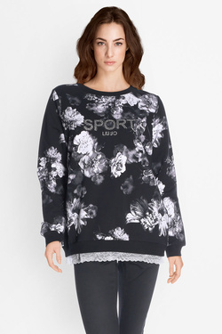 Sweat-shirt LIU JO T67187F0589 Noir