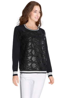 LIU JO - Sweat-shirtT66037 J5247Noir