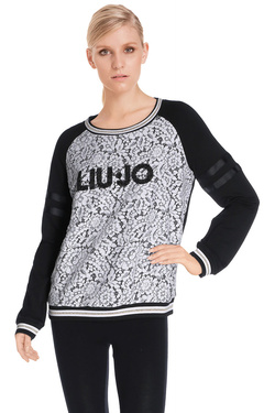 LIU JO - Sweat-shirtT66039 F0597Noir