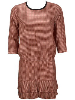 MAISON SCOTCH Robe rouge bordeaux 15240888804