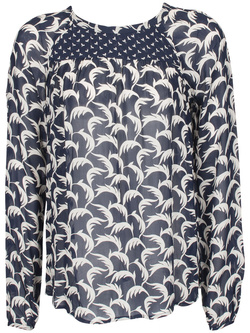 MAISON SCOTCH Blouse bleu marine 15240953724