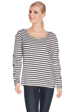 MAISON SCOTCH - Tee-shirt manches longues100218Ecru