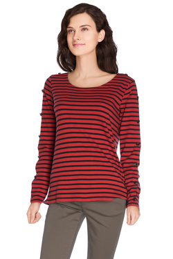 MAISON SCOTCH - Tee-shirt manches longues100218Rouge