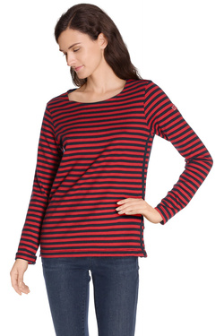 MAISON SCOTCH - Tee-shirt manches longues102122Rouge