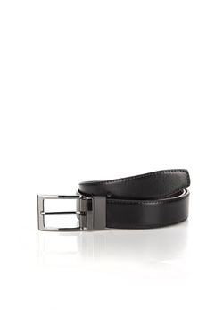 MEN ACCESSORIES - Ceintureke graineardNoir