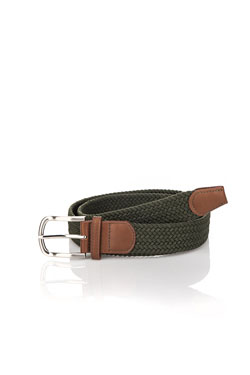 MEN ACCESSORIES - Ceinture49MA1AH200Vert kaki