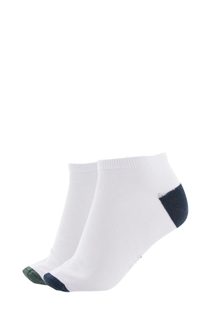 2 paires socquettes coton majoritaire MEN ACCESSORIES