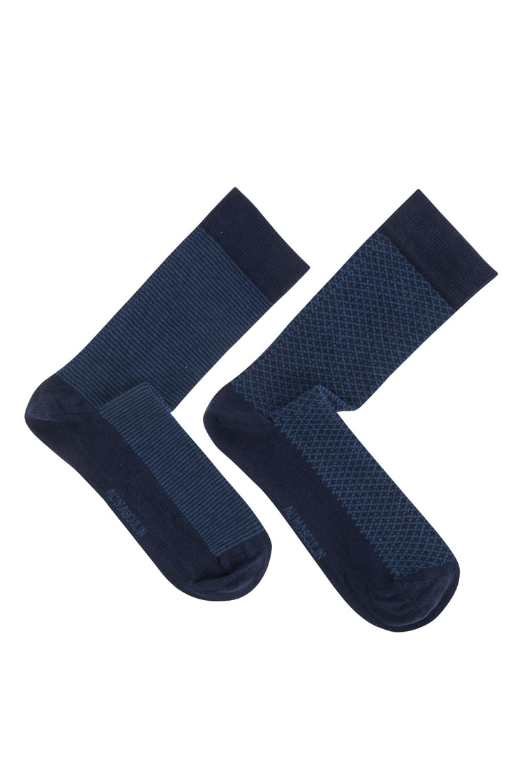 au masculin chaussettes 50am1ap102 bleu homme des marques et vous. Black Bedroom Furniture Sets. Home Design Ideas