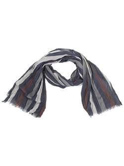 MEN ACCESSORIES - Foulard46MA1AC102Bleu marine