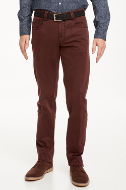 Pantalon MEYER DIEGO C 5532 Rouge bordeaux