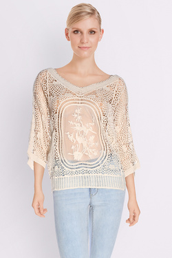 MOLLY BRACKEN - Tee-shirt manches longuesK603P17Ecru