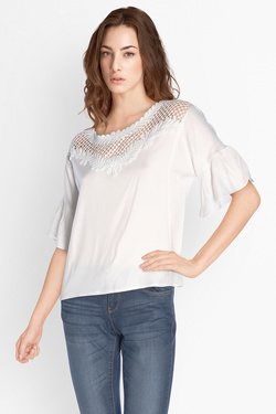 Blouse MOLLY BRACKEN G213E17 Ecru