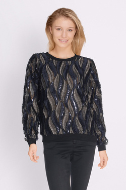 Pull MOLLY BRACKEN S3216H17 Bleu