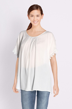Blouse MOLLY BRACKEN G397E18 Blanc