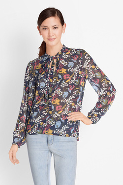 Blouse MOLLY BRACKEN G364P18 Bleu marine