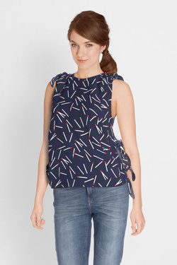 Blouse MOLLY BRACKEN P1002BP18 Bleu marine