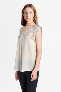 Blouse MOLLY BRACKEN T510P18 Blanc