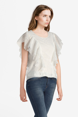 Blouse MOLLY BRACKEN T520P18 Blanc