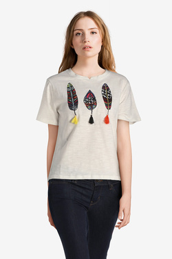 Tee-shirt MOLLY BRACKEN S3375P18 Blanc
