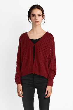 Gilet MOLLY BRACKEN E1019A18 Rouge bordeaux