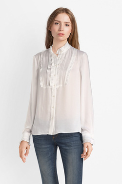 Chemise manches longues MOLLY BRACKEN L107A18 Blanc