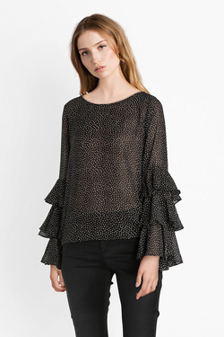 Blouse MOLLY BRACKEN P1126H18 Noir