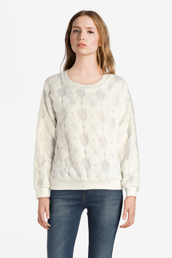 Sweat-shirt MOLLY BRACKEN SL213A18 Blanc
