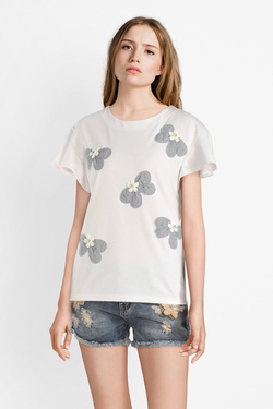 Tee-shirt MOLLY BRACKEN S3665E19 Blanc