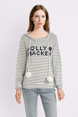 Sweat-shirt MOLLY BRACKEN V1116AP19 Bleu marine