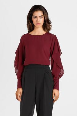 Blouse MOLLY BRACKEN G622A19 Rouge bordeaux